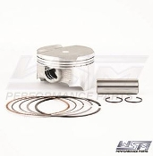 WSM PISTON KIT: KAWASAKI 1200 STX 12-F .25MM OVER